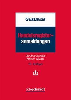 Handelsregister-Anmeldungen - Gustavus, Eckhart; Melchior, Robin