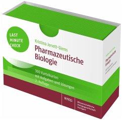 Last Minute Check - Pharmazeutische Biologie - Jenett-Siems, Kristina