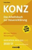 Konz, Das Arbeitsbuch zur Steuererklärung 2020/21