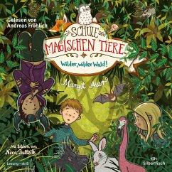 Wilder, wilder Wald! / Die Schule der magischen Tiere Bd.11 (2 Audio-CDs) - Auer, Margit