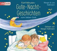 Fünf-Minuten-Gute-Nacht-Geschichten vom lieben Gott - Käßmann, Margot; Käßmann, Lea