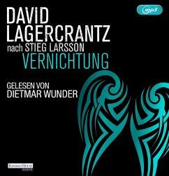 Vernichtung / Millennium Bd.6 (2 MP3-CDs) - Lagercrantz, David