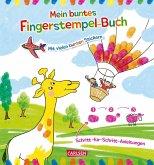 Mein buntes Fingerstempel-Malbuch