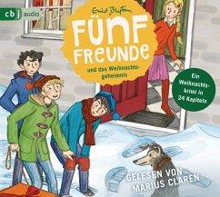 Fünf Freunde und das Weihnachtsgeheimnis, 2 Audio-CD - Blyton, Enid
