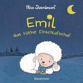 """Emil das kleine Einschlafschaf. Eine Gutenachtgeschichte zum Vorlesen und Betrachten. Pappbilderbuch ab 18 Monaten. Vom Autor von """"Schüttel den Apfelbaum"""""""