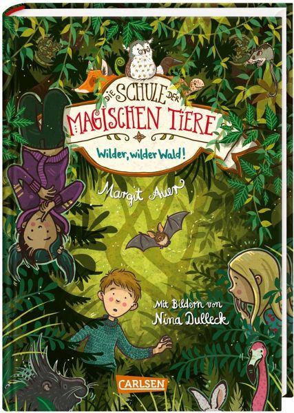 Buch-Reihe Die Schule der magischen Tiere von Margit Auer