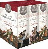 Shakespeare- Sämtliche Werke in drei Bänden