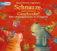 Schnauze, jetzt rieselt's Geschenke / Schnauze Bd.6 (1 Audio-CD) - Angermayer, Karen Chr.