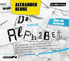 Das neue Alphabet, 3 Audio-CD - Kluge, Alexander