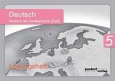 Deutsch 5 (DaZ), Lösungsheft