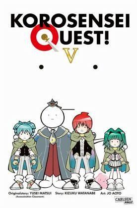 Buch-Reihe Korosensei Quest!