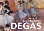 Postkartenbuch Edgar Degas