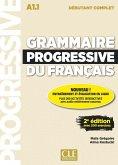 Grammaire progressive du français - Niveau débutant complet. 2ème édition. Livre + CD + Web-App