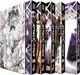Attack on Titan, Bände 26-30 im Sammelschuber mit Extra