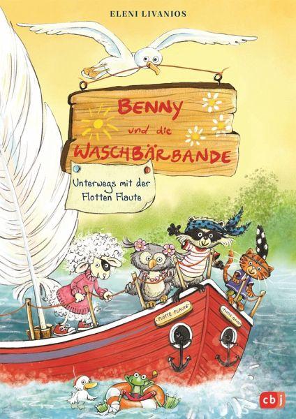 Buch-Reihe Benny und die Waschbärbande