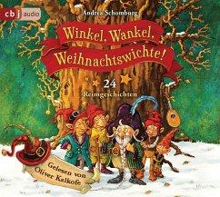 Winkel, Wankel, Weihnachtswichte!, 2 Audio-CD - Schomburg, Andrea