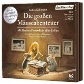 Die großen Mäuse-Abenteuer / Mäuseabenteuer Bd.1-3 (3 Audio-CDs)