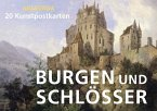 Postkartenbuch Burgen und Schlösser