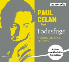 Todesfuge, 2 Audio-CD - Celan, Paul