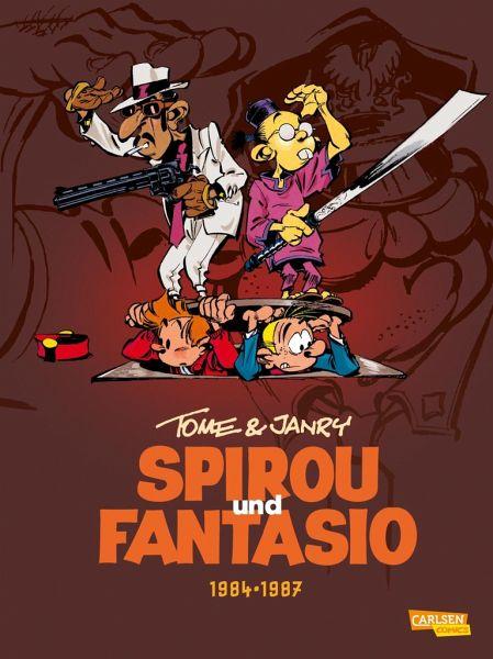 Buch-Reihe Spirou & Fantasio Gesamtausgabe von André Franquin