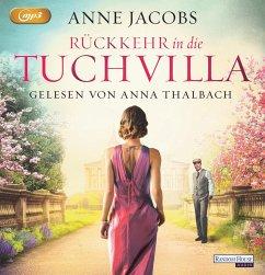 Rückkehr in die Tuchvilla / Tuchvilla Bd.4 (2 MP3-CDs) - Jacobs, Anne