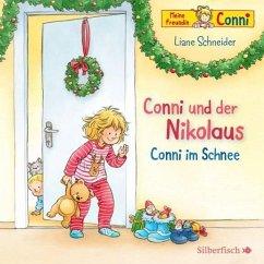 Conni und der Nikolaus / Conni im Schnee, 1 Audio-CD - Schneider, Liane