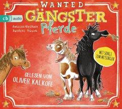 Gängster-Pferde, 2 Audio-CD - Hüging, Andreas; Niestrath, Angelika