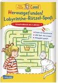 Herausgefunden! Labyrinthe-Rätsel-Spaß / Conni Gelbe Reihe Bd.53