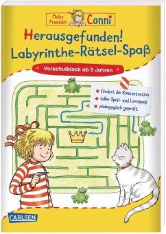 Herausgefunden! Labyrinthe-Rätsel-Spaß / Conni Gelbe Reihe Bd.53 - Sörensen, Hanna