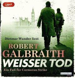 Weißer Tod / Cormoran Strike Bd.4 (3 MP3-CDs) - Galbraith, Robert
