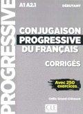 Conjugaison progressive du français, Niveau débutant - 2ème édition, Corrigés