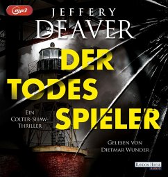 Der Todesspieler / Colter Shaw Bd.1 (2 MP3-CDs) - Deaver, Jeffery