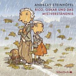 Rico, Oskar und das Mistverständnis / Rico & Oskar Bd.5 (4 Audio-CDs) - Steinhöfel, Andreas