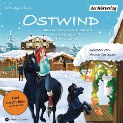 Chaos auf dem Wintermarkt & Das geheimnisvolle Brandzeichen / Ostwind für Erstleser Bd.7-8 (1 Audio-CD) - THiLO