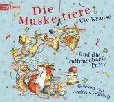 Eine rattenscharfe Party / Die Muskeltiere zum Selberlesen Bd.4 (2 Audio-CDs)
