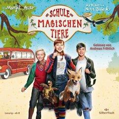 Die Schule der magischen Tiere: Das Hörbuch zum Film, 2 Audio-CD - Auer, Margit
