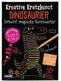 Dinosaurier / Kreative Kratzkunst Bd.17