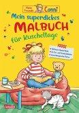 Conni Gelbe Reihe: Mein superdickes Malbuch für Kuscheltage