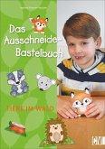 Das Ausschneide-Bastelbuch. Tiere im Wald (Mängelexemplar)