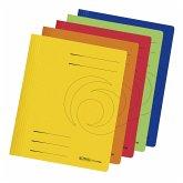 Herlitz Schnellhefter A4 Karton farbig, 10er Set