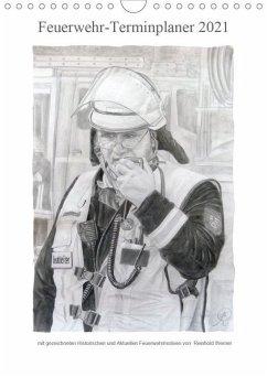 Feuerwehr-Terminplaner (Wandkalender 2021 DIN A4 hoch)
