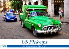 US Pick-ups - Ein Stück American Way of Life (Wandkalender 2021 DIN A4 quer)