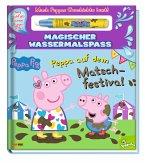 Peppa Pig: Peppa auf dem Matschfestival - Magischer Wassermalspaß