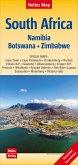 Nelles Map Landkarte South Africa : South Africa, Namibia, Botswana, Zimbabwe   Südafrika   Afrique du Sud   África del