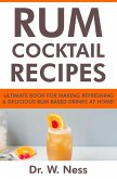 Rum Cocktail Recipes: Ultimate Book for Making Refreshing & Delicious Rum Based Drinks at Home (eBook, ePUB)