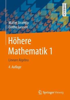 Höhere Mathematik 1 (eBook, PDF) - Strampp, Walter; Janssen, Dörthe