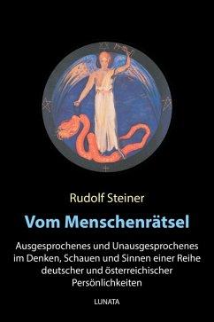 Vom Menschenra¨tsel (eBook, ePUB) - Steiner, Rudolf