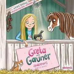 Zauberponys gibt es doch! / Greta und Gauner Bd.1 (2 Audio-CDs) - Rhodius, Wiebke