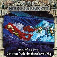 Der letzte Wille der Stanislawa d'Asp / Gruselkabinett Bd.163 (Audio-CD) - Ewers, Hanns Heinz
