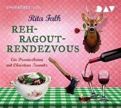 Rehragout-Rendezvous / Franz Eberhofer Bd.11 (6 Audio-CDs) - Falk, Rita